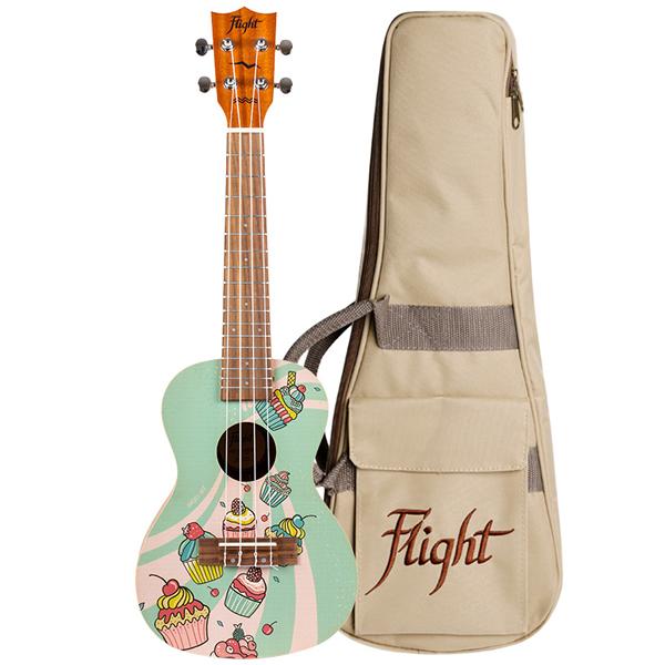 Flight AUC-33 Cupcake Koncert Ukulele