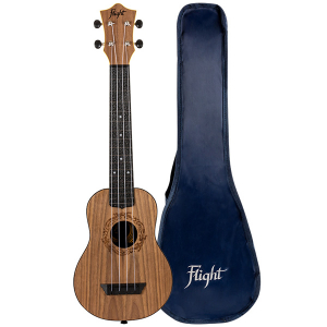 Flight TUSL50 Salamander Travel Concert Scale Soprano Ukulele